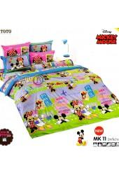 ชุดเครื่องนอนมิกกี้เมาส์ Mickey Mouse TOTO ผ้าปูที่นอน ผ้านวม ลิขสิทธิ์แท้โตโต้ MK11