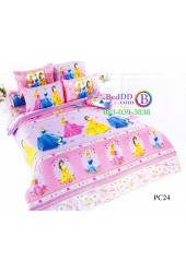 ชุดเครื่องนอนเจ้าหญิงดิสนีย์ Disney Princess TOTO ผ้าปูที่นอน ผ้านวม ลิขสิทธิ์แท้โตโต้ PC24