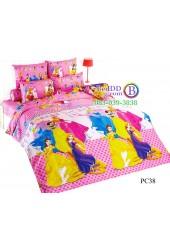 ชุดเครื่องนอนเจ้าหญิงดิสนีย์ Disney Princess TOTO ผ้าปูที่นอน ผ้านวม ลิขสิทธิ์แท้โตโต้ PC38
