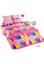 ชุดเครื่องนอนเจ้าหญิงดิสนีย์ Disney Princess TOTO ผ้าปูที่นอน ผ้านวม ลิขสิทธิ์แท้โตโต้ PC39
