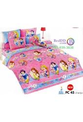 ชุดเครื่องนอนเจ้าหญิงดิสนีย์ Disney Princess TOTO ผ้าปูที่นอน ผ้านวม ลิขสิทธิ์แท้โตโต้ PC45