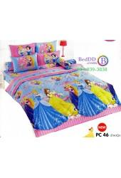 ชุดเครื่องนอนเจ้าหญิงดิสนีย์ Disney Princess TOTO ผ้าปูที่นอน ผ้านวม ลิขสิทธิ์แท้โตโต้ PC46