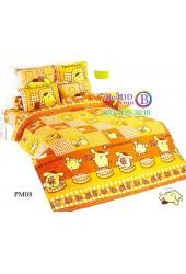 ชุดเครื่องนอนปอมปอมปูริน Pom Pom Purin TOTO ผ้าปูที่นอน ผ้านวม ลิขสิทธิ์แท้โตโต้ PM08