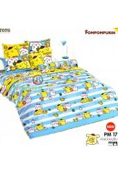 ชุดเครื่องนอนปอมปอมปูริน Pom Pom Purin TOTO ผ้าปูที่นอน ผ้านวม ลิขสิทธิ์แท้โตโต้ PM17
