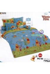 ชุดเครื่องนอนหมีพูห์ Pooh Bear TOTO ผ้าปูที่นอน ผ้านวม ลิขสิทธิ์แท้โตโต้ PO06