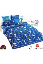 ชุดเครื่องนอนสนูปี้ หรือสนู๊ปปี้ Snoopy TOTO ผ้าปูที่นอน ผ้านวม ลิขสิทธิ์แท้โตโต้ SP27