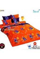 ชุดเครื่องนอนลีโล่ แอนด์ สติทช์ Lilo & Stitch TOTO ผ้าปูที่นอน ผ้านวม ลิขสิทธิ์แท้โตโต้ ST27