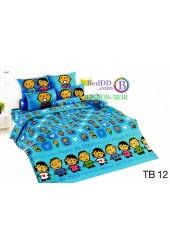 ชุดเครื่องนอนมินนาโนะ ตาโบ Minna No Tabo TOTO ผ้าปูที่นอน ผ้านวม ลิขสิทธิ์แท้โตโต้ TB12