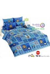 ชุดเครื่องนอนมินนาโนะ ตาโบ Minna No Tabo TOTO ผ้าปูที่นอน ผ้านวม ลิขสิทธิ์แท้โตโต้ TB14
