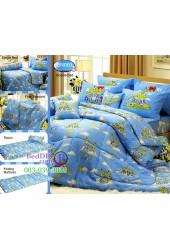 ชุดเครื่องนอนลาย Bananas in Pyjamas กล้วยหอมจอมซน Tulip ผ้าปูที่นอน ผ้านวมทิวลิป BN001