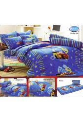 ชุดเครื่องนอนลาย Cars แม็คควีน  ผ้าปูที่นอน ผ้านวมทิวลิป D021