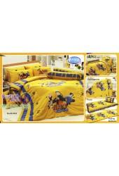 ชุดเครื่องนอนลาย Naruto นินจานารูโตะ  ผ้าปูที่นอน ผ้านวมทิวลิป NR002
