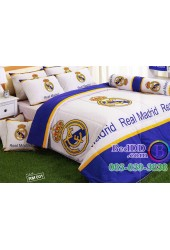 ชุดเครื่องนอนลายสโมสรทีมเรอัล มาดริด ชุดเครื่องนอน Real Madrid ห้ามพลาด! Tulip ผ้าปูที่นอน ผ้านวมทิวลิป RM001